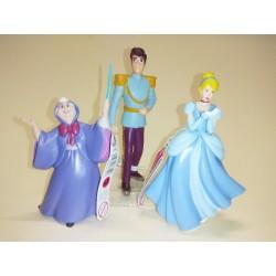 Lote cenicienta, hada madrina y príncipe