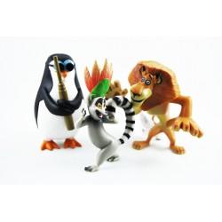 Figuras el mundo de Madagascar