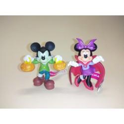 Lote Mickey Minnie Halloween