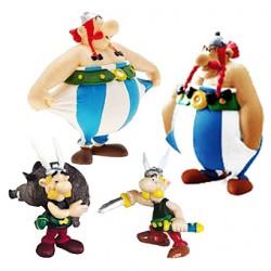 Figuras de Asterix y Obelix